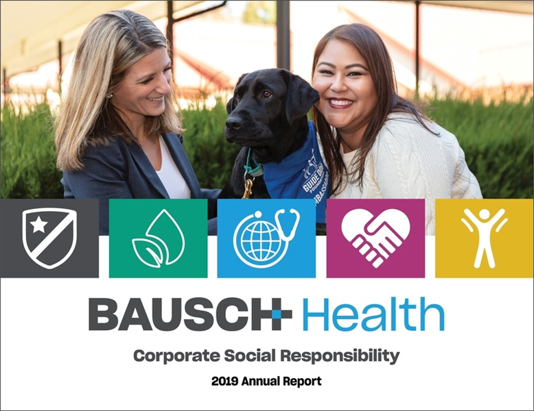 Bausch Health releases annual Corporate Social Responsibility Report